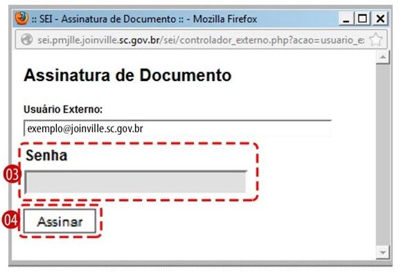 Assinatura de documento