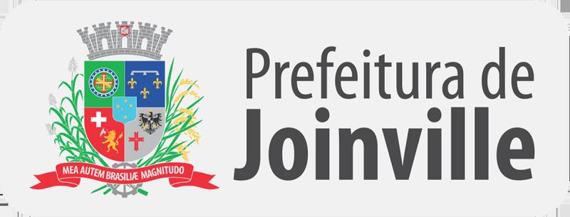 Marca da Prefeitura de Joinville, horizontal, formato imagem (.PNG), grande