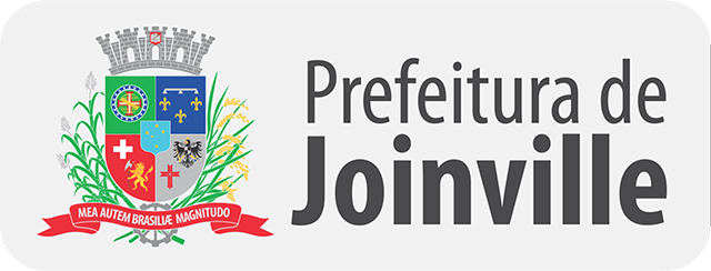 Marca da Prefeitura de Joinville, horizontal, formato imagem (.PNG), média